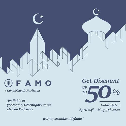FAMO Discount Up To 50% ! (25927271) di Kota Jakarta Selatan