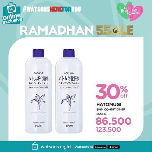 Watsons Ramadhan Sale Up To 50% (25927515) di Kota Jakarta Selatan