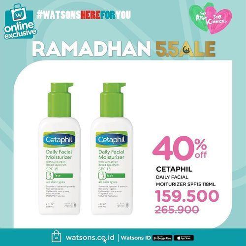 Watsons Ramadhan Sale Up To 50% (25927519) di Kota Jakarta Selatan