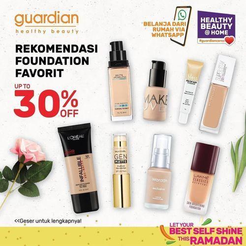 Guardian Foundation 30% Off (25927567) di Kota Jakarta Selatan