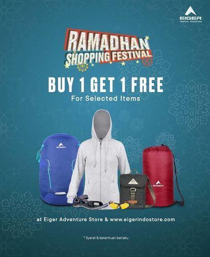 Eiger Ramadhan Shopping Festival Promo Buy 1 Get 1 Free Free Ongkir Jakarta Selatan Jualo