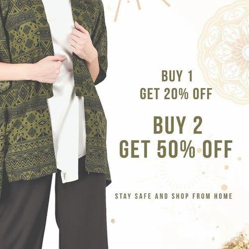 ADA Fashion Promo Ramadhan Buy 1 Get 20% Buy 2 Get 50% (25951931) di Kota Jakarta Selatan