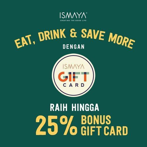 The People's Cafe Promo Gift Card hemat hingga 25% (25957203) di Kota Jakarta Selatan