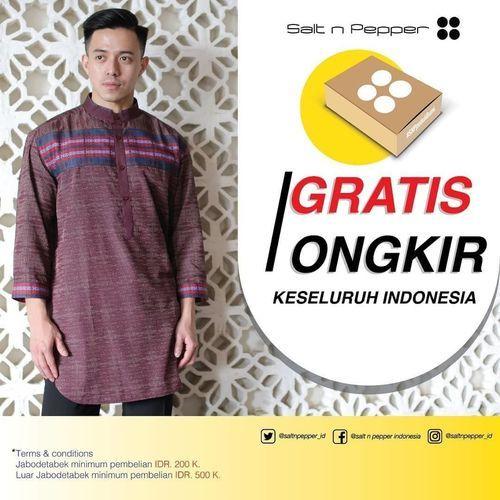 Salt N Pepper Promo Gratis Ongkir Pembelian Baju Muslim / Kurta FESTIVE (25957495) di Kota Jakarta Selatan
