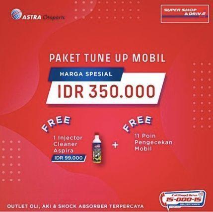 Shop And Drive Paket Tune Up Mobil (25959131) di Kota Jakarta Selatan