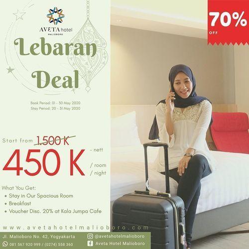 Aveta Hotel Malioboro Lebaran Deal 70% Discount (25961911) di Kota Yogyakarta