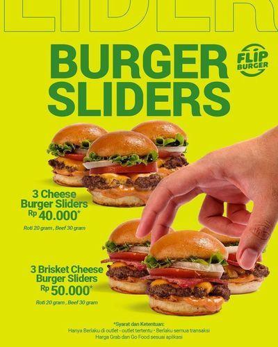 Flip Burger Burger Slides Promo (25966139) di Kota Jakarta Selatan