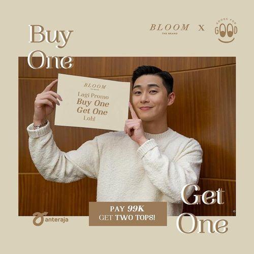 Bloom The Brand Pay 99K Get 2 Tops (25966183) di Kota Jakarta Selatan