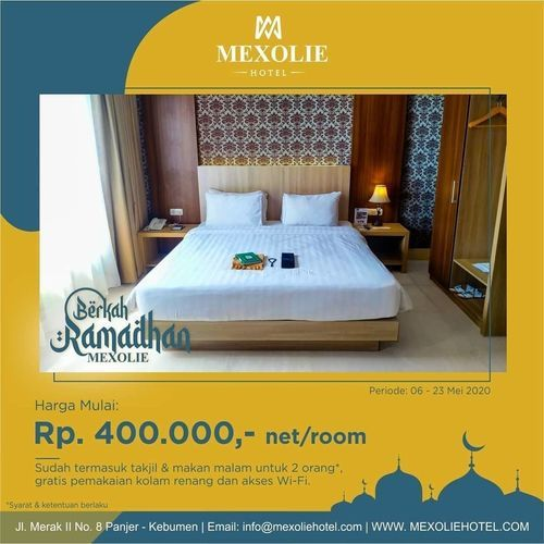 Mexolie Hotel Kebumen Room Promo spesial Berkah Ramadhan (25968787) di Kab. Kebumen