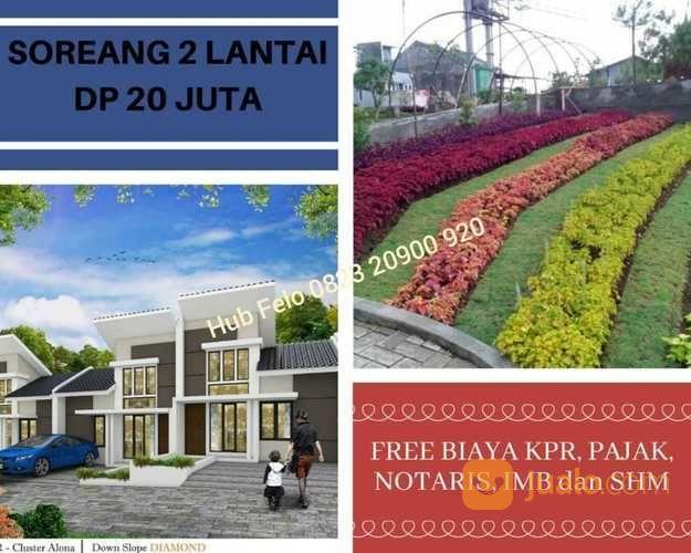 KHUSUS YANG SERIUS! Promo Rumah 2 Lantai Harga Selantai View Kota Di Soreang (25976951) di Kab. Bandung
