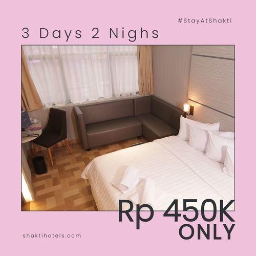 Shakti Hotel 3 Days 2 Nights (25987879) di Kota Jakarta Pusat
