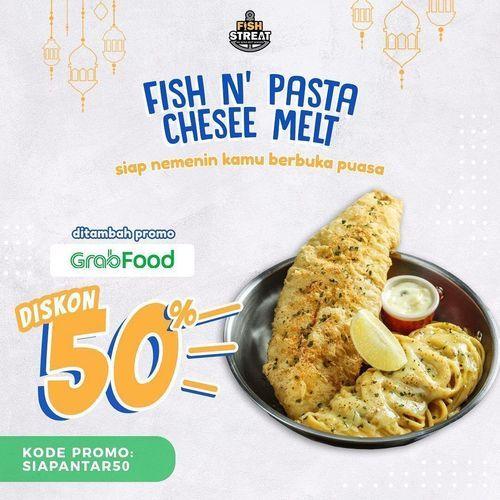 Fish Streat Diskon 50% Grabfood (25988811) di Kota Jakarta Selatan