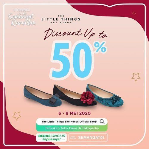 The Little Things She Needs Discount Up To 50% (25988843) di Kota Jakarta Selatan