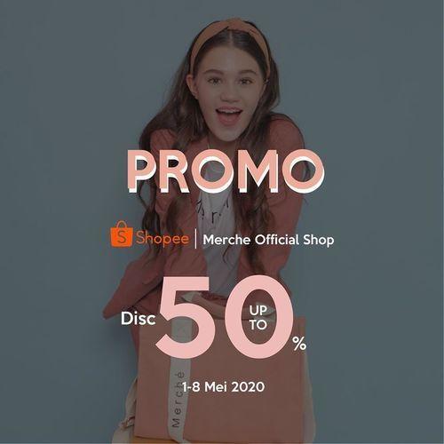 Merche Disc Up To 50% Off (25999779) di Kota Jakarta Selatan