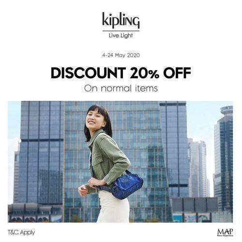 Kipling Discount 20% Off (25999807) di Kota Jakarta Selatan