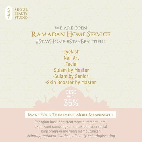 Seoul Beauty Salon Ramadan Home Service Diskon s/d 35% (26016679) di Kota Jakarta Selatan