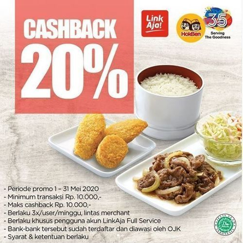 Hokman - Promo Cashback 20% (26018935) di Kota Jakarta Selatan