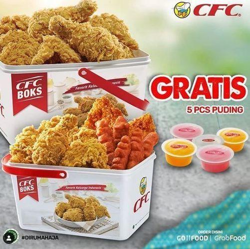 CFC Promo GRATIS 5pcs PUDDING (26019027) di Kota Jakarta Selatan