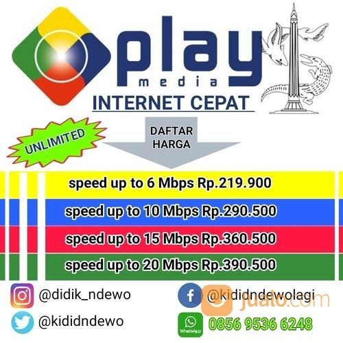 Mnc Play Media Internet Wifi Terbaik Unlimited Surabaya Jualo