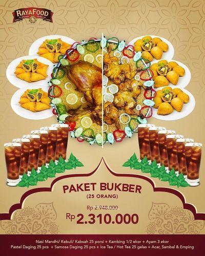 RAYAFOOD Paket Bukber 25 Orang (26025555) di Kota Jakarta Selatan