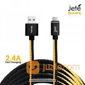 KABEL USB MICRO JETE SWIFT 100 CM 2.4A (26025611) di Kota Surabaya
