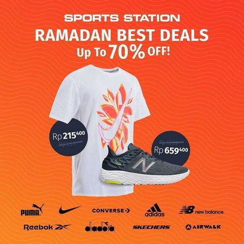 Sports Station Ramadan Best Deals Up To 70% Off (26026447) di Kota Jakarta Selatan