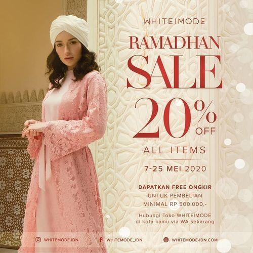 WHITEMODE Ramadhan Sale 20% Off (26031399) di Kota Jakarta Selatan