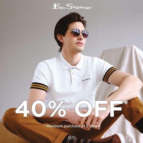 Ben Sherman Sale 40% Off (26031459) di Kota Jakarta Selatan