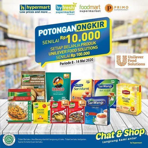 Hypermart Chat & Shop Potongan Ongkir (26031939) di Kota Jakarta Selatan