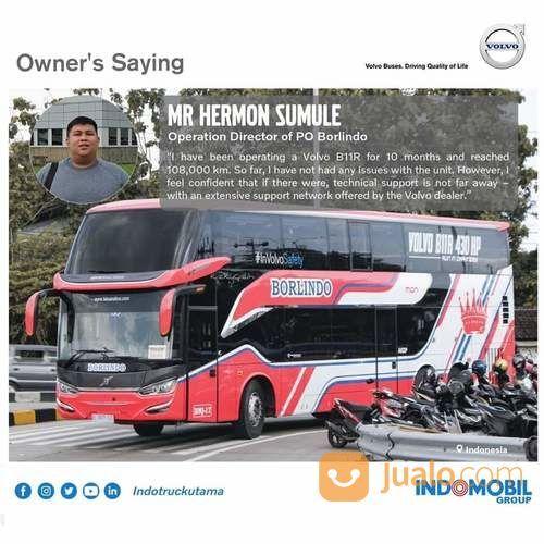 VOLVO BUS B11R 430HP 6x2, I-SHIFT 12 SPEED. KOTA PEKANBARU,RIAU (26034131) di Kota Pekanbaru