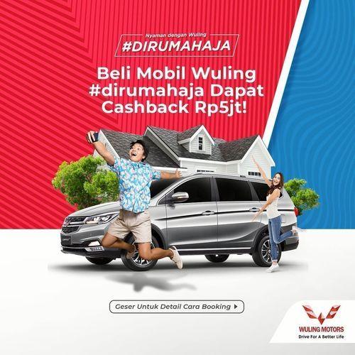 Wuling Beli Mobil Dirumah Aja Cashback 5Jt (26035107) di Kota Jakarta Selatan