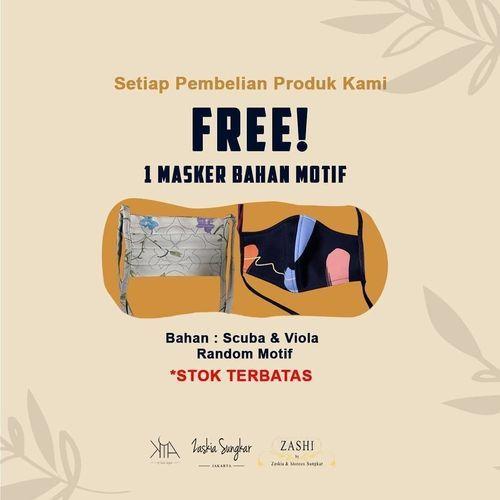 KIA by Zaskia Sungkar Promo FREE 1 masker setiap transaksi (26043655) di Kota Jakarta Selatan