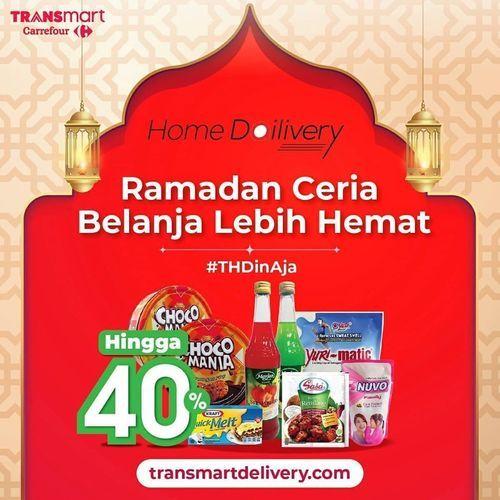 Transmart Carrefour Promo Ramadan Diskon Hingga 40% (26046667) di Kota Jakarta Selatan