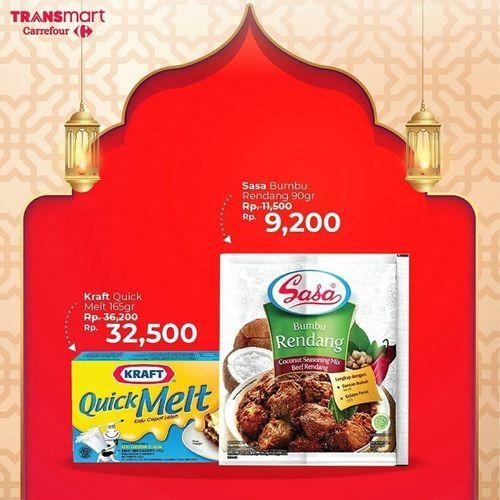 Transmart Carrefour Promo Ramadan Diskon Hingga 40% (26046675) di Kota Jakarta Selatan