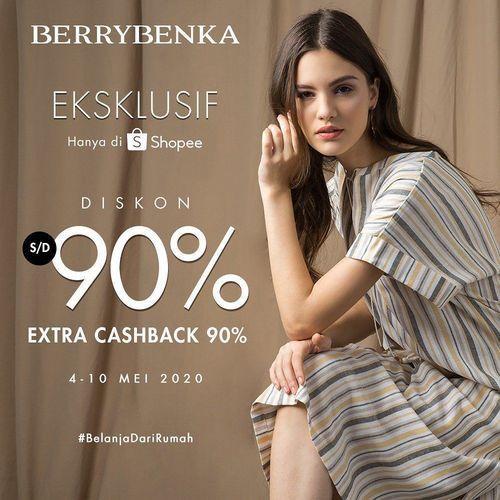 BERRYBENKA RAMADAN CAMPAIGN Diskon 90% + Extra Cashback 90% (26047007) di Kota Jakarta Selatan
