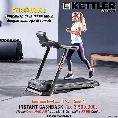 KETTLER Instant Cashback sebesar Rp. 3.500.000 + FREE Kettler Yoga Mat & Gymball (26047031) di Kota Jakarta Selatan