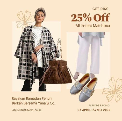 Yuna & Co Get Disc. 25% Off (26047059) di Kota Jakarta Selatan