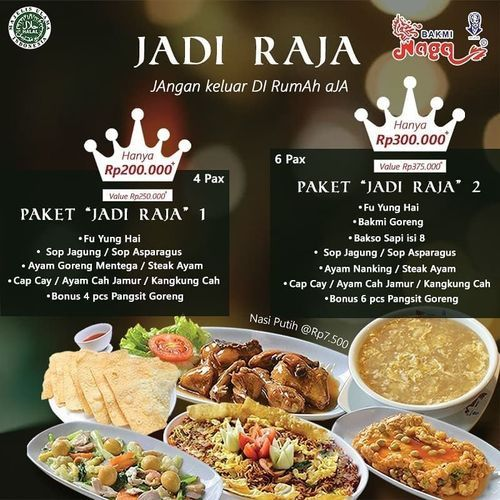 Bakmi Naga Paket Jadi Raja (26055915) di Kota Jakarta Selatan