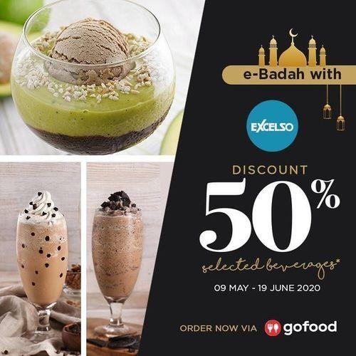 Excelso Promo Ebadah Discount 50% (26055955) di Kota Jakarta Selatan
