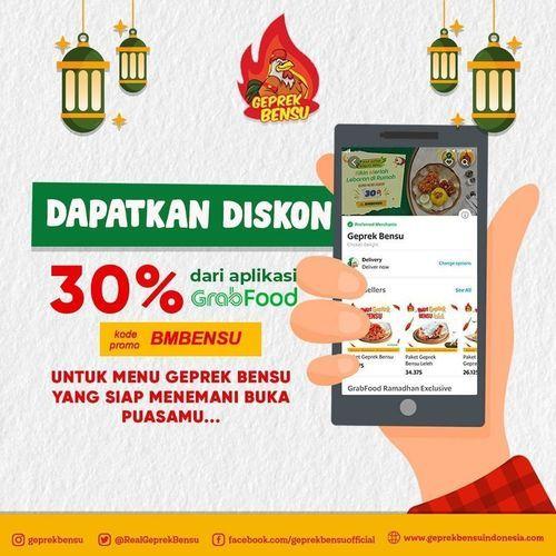 Geprek Bensi Diskon 30% Grabfood (26055963) di Kota Jakarta Selatan
