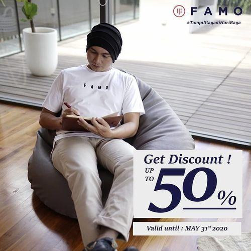 FAMO Get Discount Up To 50% Off (26056063) di Kota Jakarta Selatan
