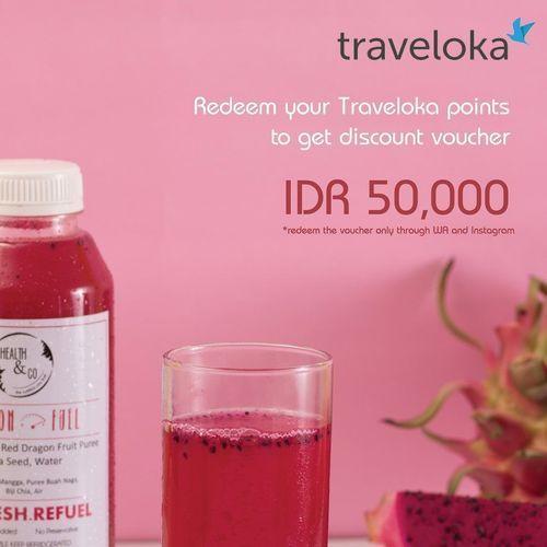 Health and Co Promo Traveloka Points Voucher Discount Rp 50.000 (26057555) di Kota Jakarta Selatan