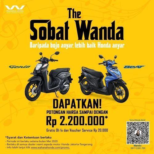 Wahana Honda Promo Potongan Harga (26057975) di Kota Jakarta Selatan