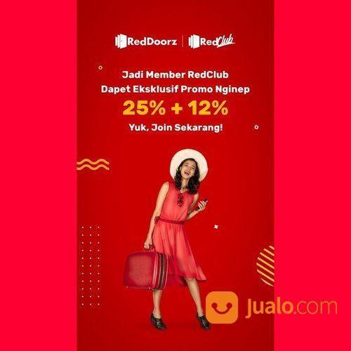 RedDoorz Promo Member 25% + 12% (26058363) di Kota Jakarta Selatan