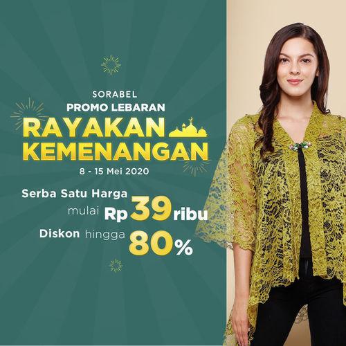 Sorabel Promo Lebaran diskon hingga 80%! (26058459) di Kota Jakarta Selatan