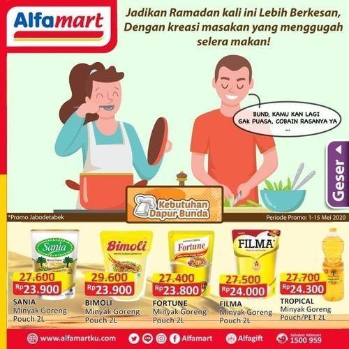 Alfamart Promo Kebutuhan Dapur Diskon Bahan Masak (26058483) di Kota Jakarta Selatan