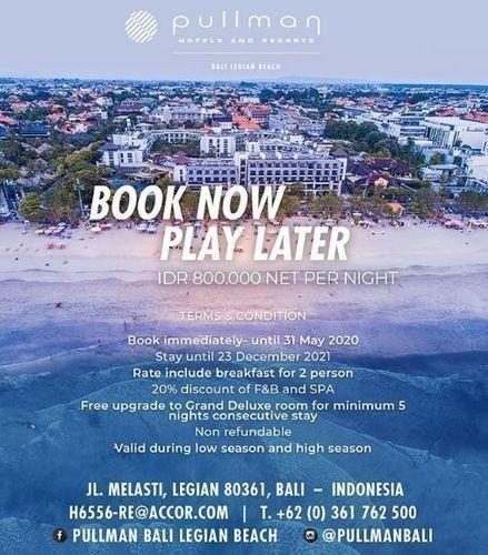 Pullman - Book Now Play Later (26058699) di Kota Denpasar