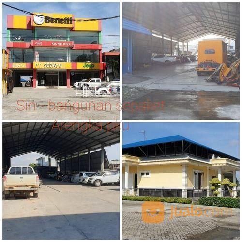 Gedung Sepaket Showroom, Bengkel, Rumah Di Tengah Kota (26063331) di Kota Pekanbaru