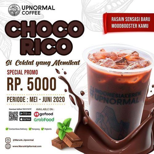 Warunk Upnormal Choco Rico Special Promo Rp. 5000 (26067103) di Kota Jakarta Selatan