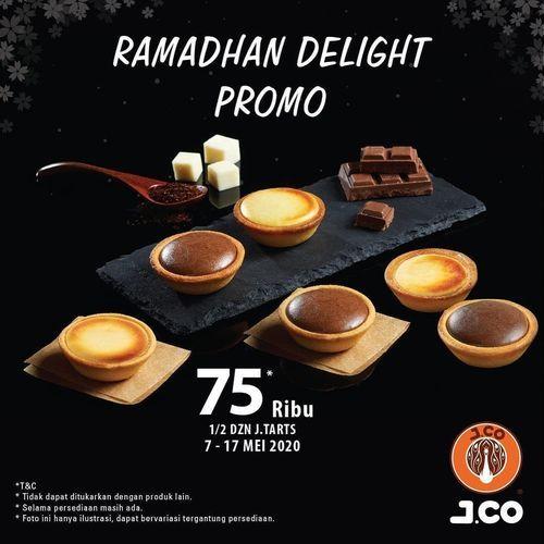 JCo JTart Promo Ramadhan Delight Rp 75.000 / 6pcs (26067127) di Kota Jakarta Selatan